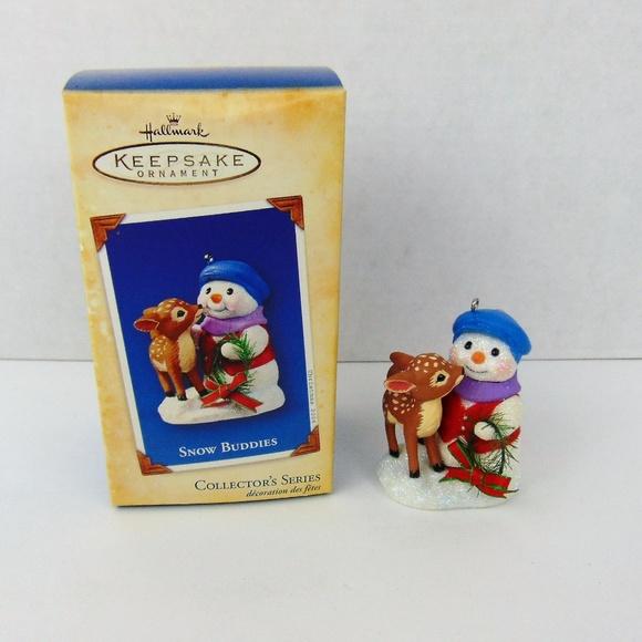 Hallmark 2019 Snow Buddies Ornament ~ 22nd in the Snow Buddies Collectors Series